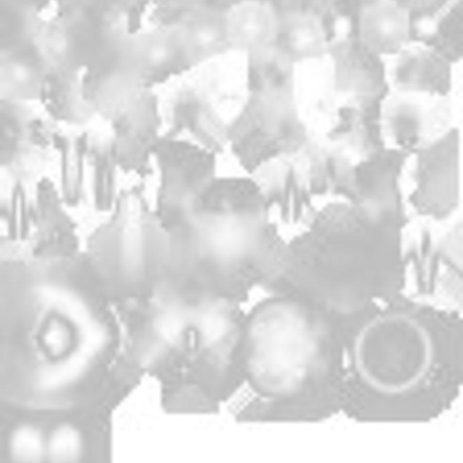 Лемми Купа- Марио Карт 8 royalty-free 3d model - Preview no. 9