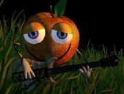 яблочный гитарист 3d model