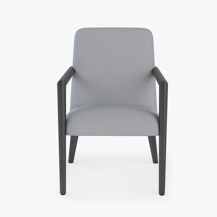 Bright - Zack Arm Chair royalty-free 3d model - Preview no. 5