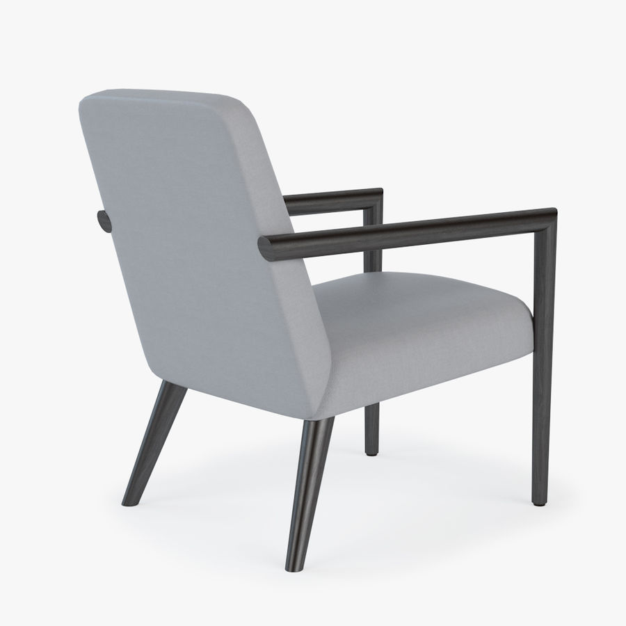 Bright - Zack Arm Chair royalty-free 3d model - Preview no. 3