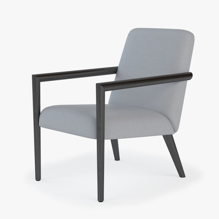 Bright - Zack Arm Chair royalty-free 3d model - Preview no. 1