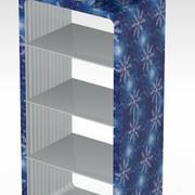 bow rack shelf 3d model