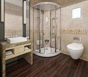 bathroom toilet scene 3D model 3d model