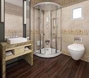 łazienka toaleta scena model 3D 3d model