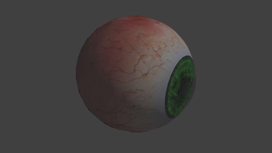 緑色の目 royalty-free 3d model - Preview no. 2