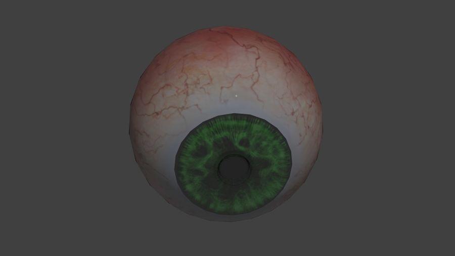 緑色の目 royalty-free 3d model - Preview no. 1