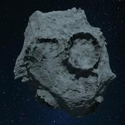 Asteroide 3d model