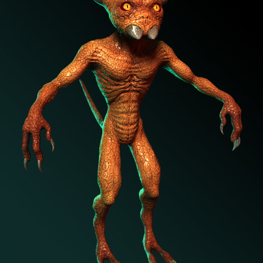 Demon royalty-free 3d model - Preview no. 5