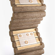 diseño de stand de información modelo 3d