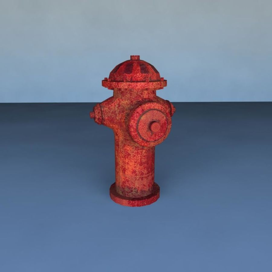 Boca de incendio royalty-free modelo 3d - Preview no. 1