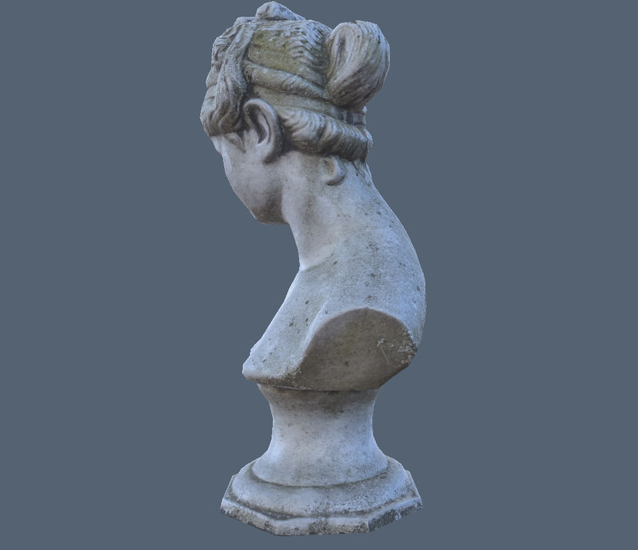 Buste royalty-free 3d model - Preview no. 4