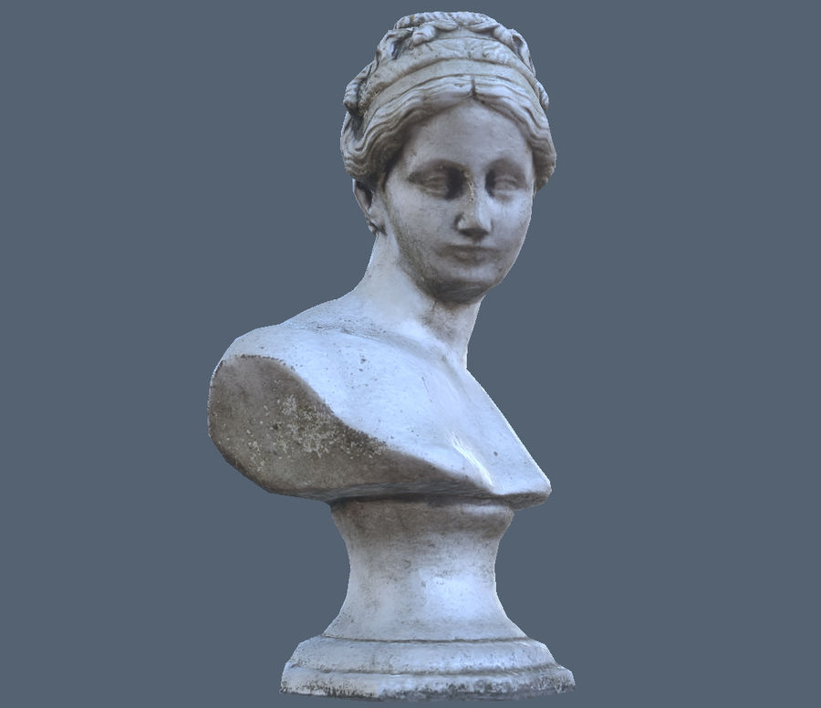 Buste royalty-free 3d model - Preview no. 8