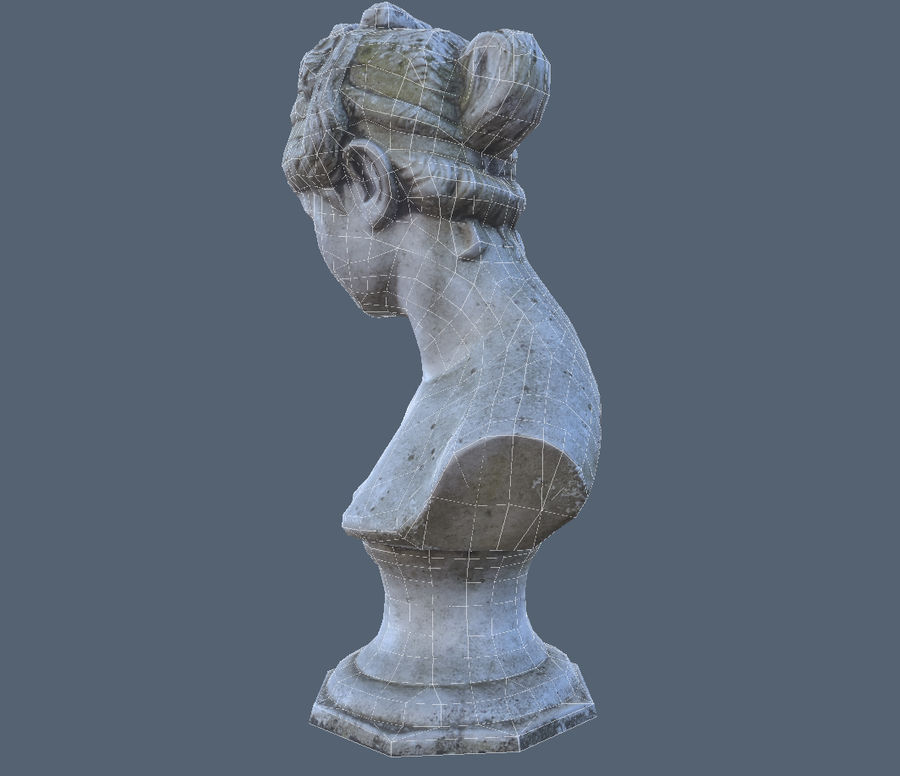 Buste royalty-free 3d model - Preview no. 5