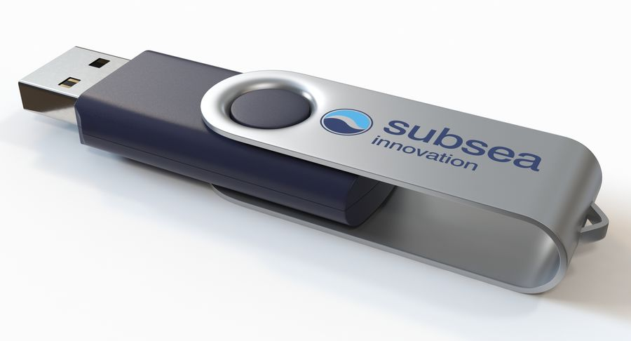 USB sürücüsü royalty-free 3d model - Preview no. 4