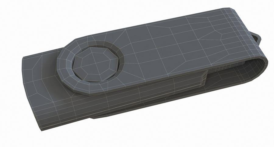USB sürücüsü royalty-free 3d model - Preview no. 27