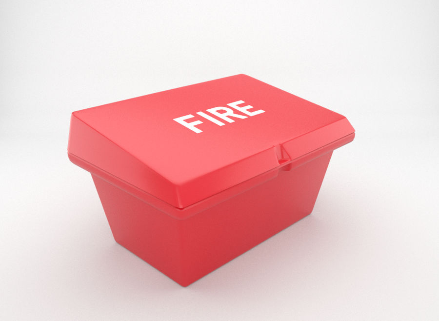 fire-fighting equipment royalty-free 3d model - Preview no. 1