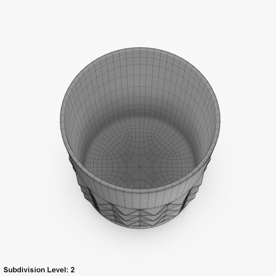Whiskey Glass 05 royalty-free 3d model - Preview no. 13