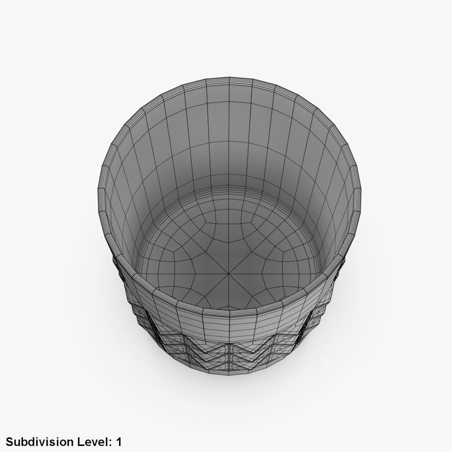 Whiskey Glass 05 royalty-free 3d model - Preview no. 11