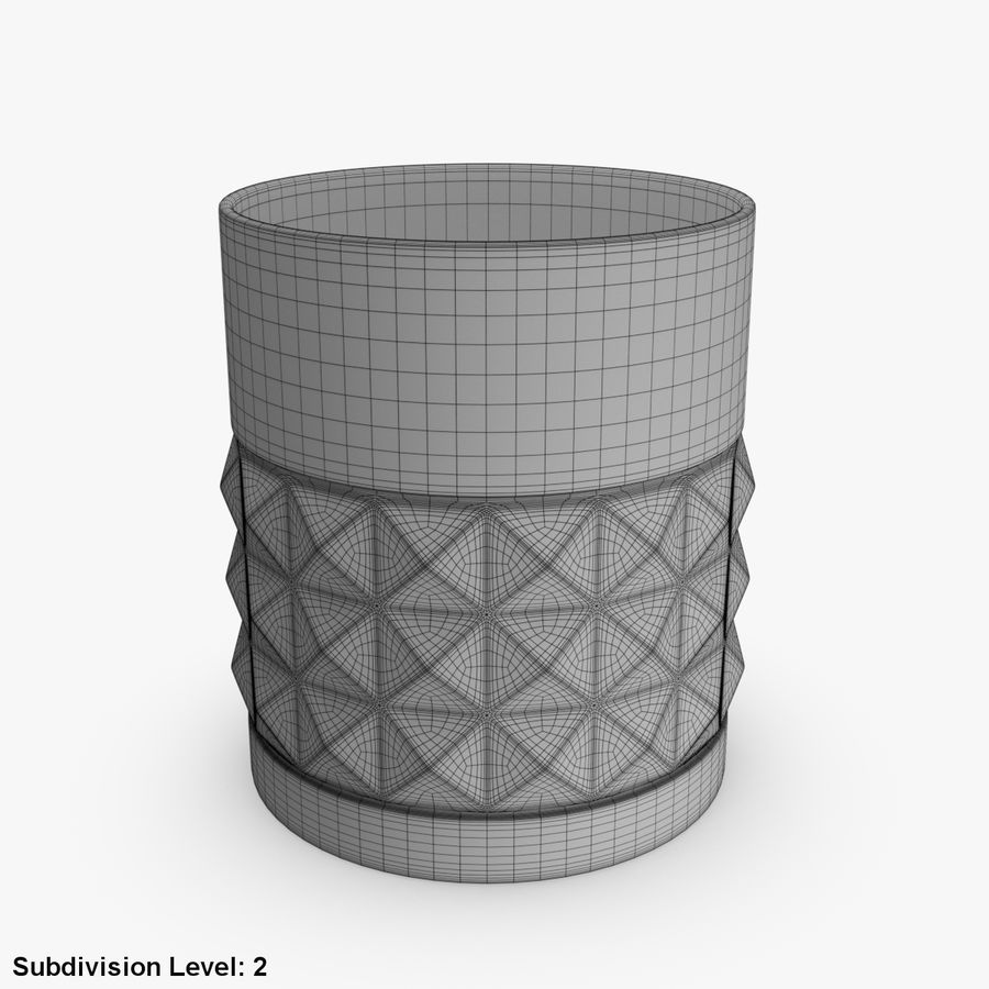 Whiskey Glass 05 royalty-free 3d model - Preview no. 7