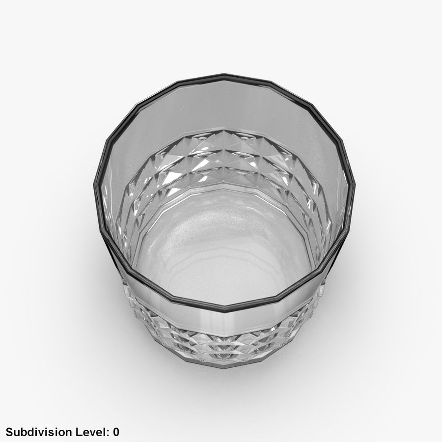 Whiskey Glass 05 royalty-free 3d model - Preview no. 8