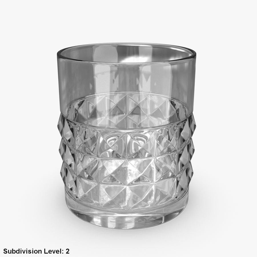 Whiskey Glass 05 royalty-free 3d model - Preview no. 6