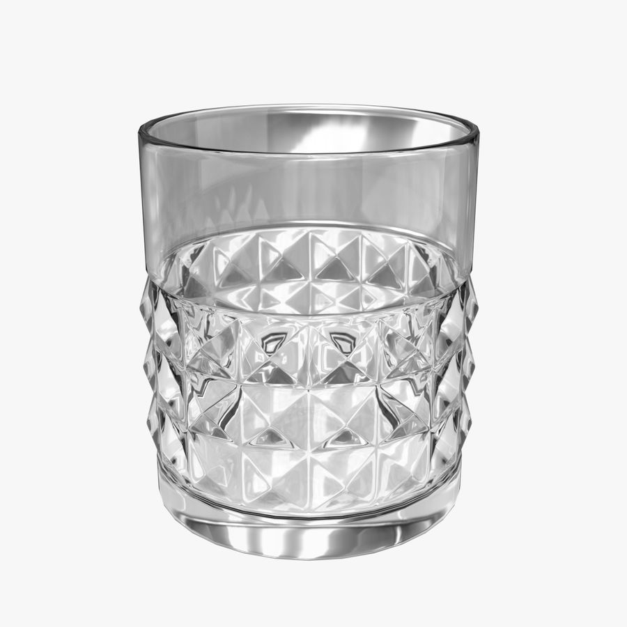 Whiskey Glass 05 royalty-free 3d model - Preview no. 1