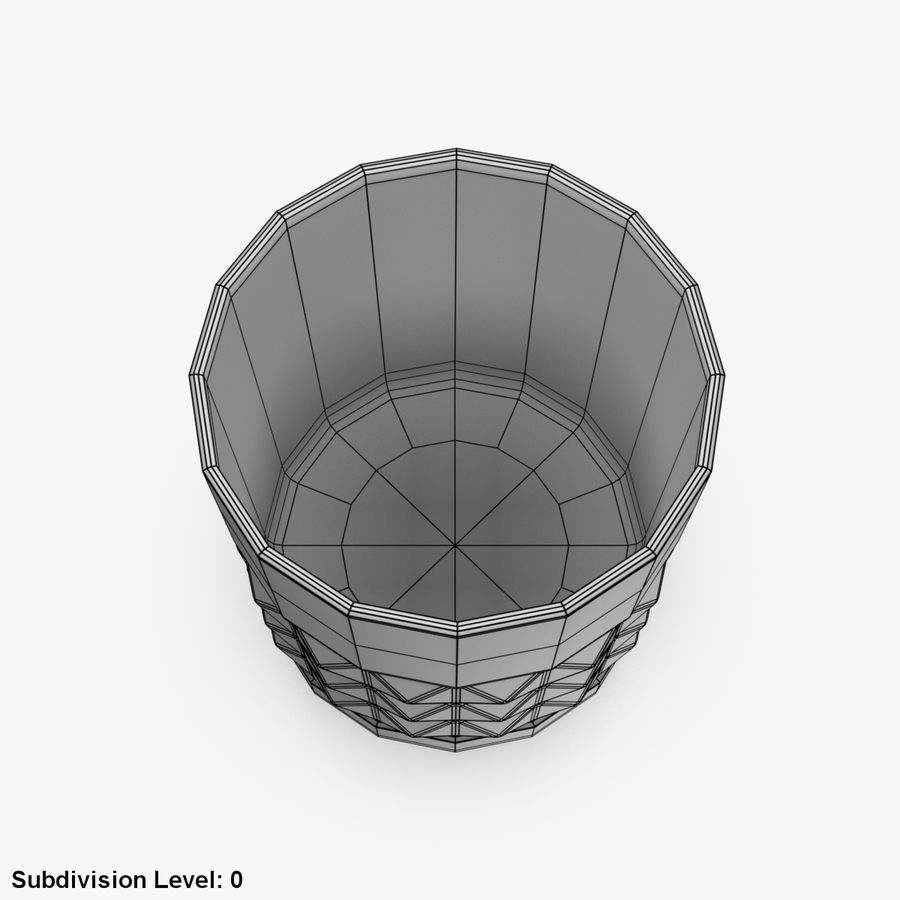 Whiskey Glass 05 royalty-free 3d model - Preview no. 9
