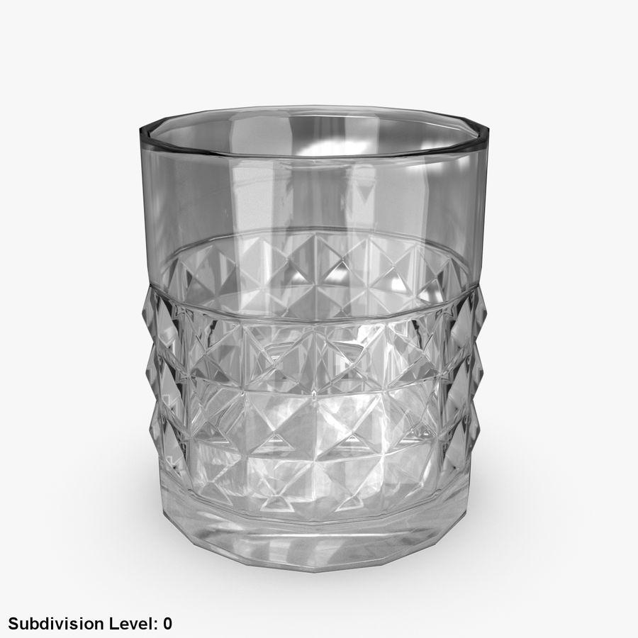 Виски Бокал 05 royalty-free 3d model - Preview no. 2