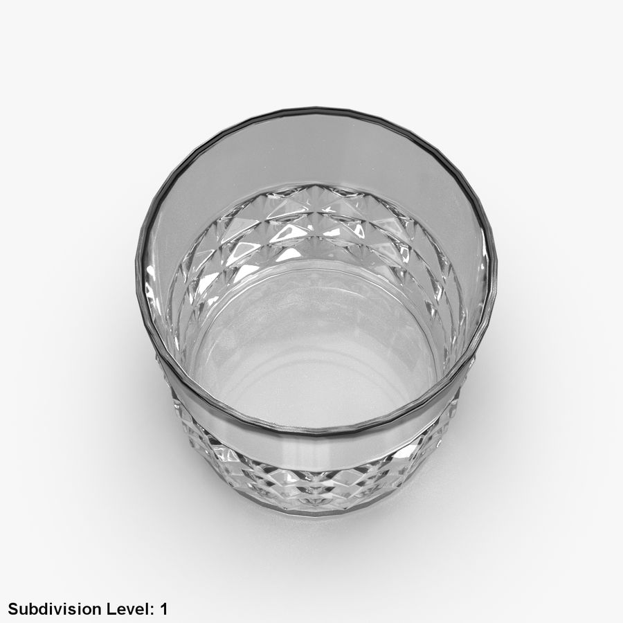 Whiskey Glass 05 royalty-free 3d model - Preview no. 10