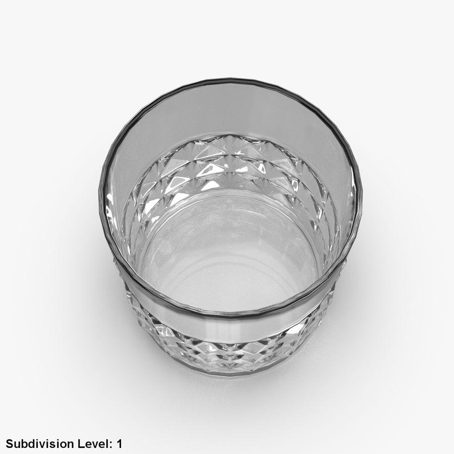Виски Бокал 05 royalty-free 3d model - Preview no. 10