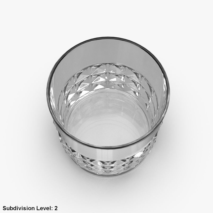Whiskey Glass 05 royalty-free 3d model - Preview no. 12