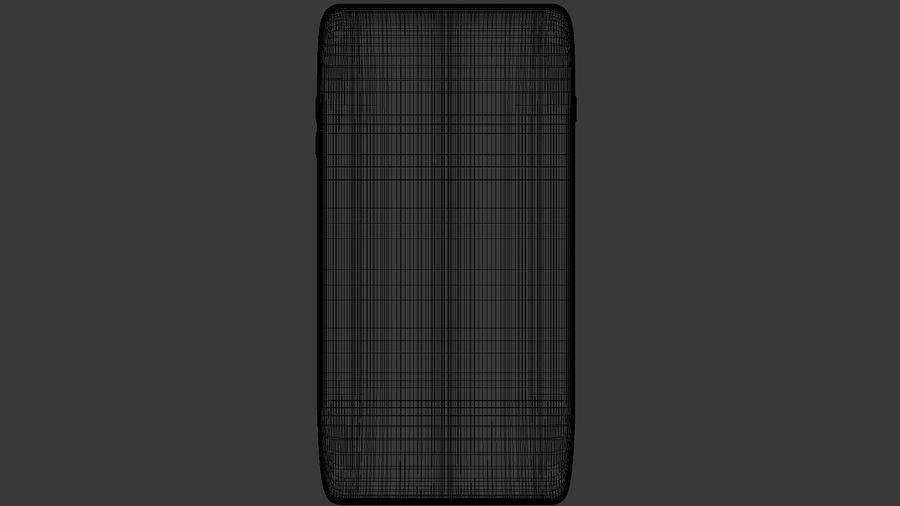 samsung galaxy S8 mobile royalty-free 3d model - Preview no. 8