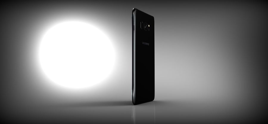 samsung galaxy S8 royalty-free 3d model - Preview no. 6