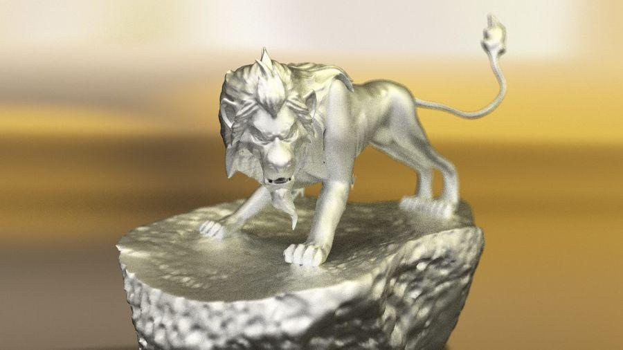 Scar Lion King royalty-free 3d model - Preview no. 4