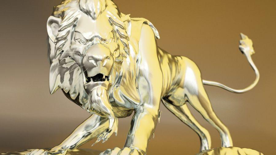 Scar Lion King royalty-free 3d model - Preview no. 1