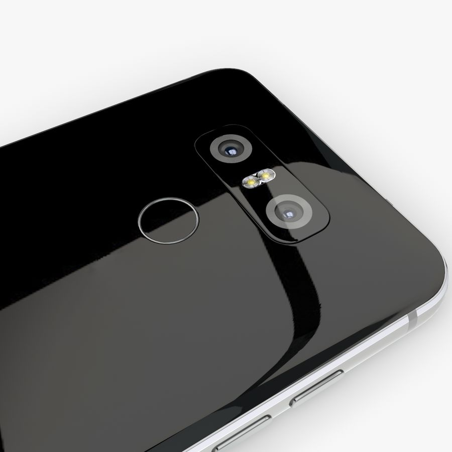LG G6 royalty-free 3d model - Preview no. 8