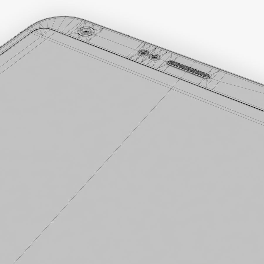 LG G6 royalty-free 3d model - Preview no. 18