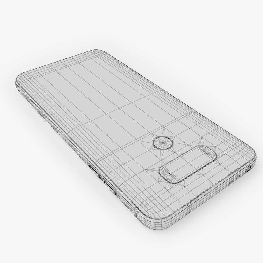 LG G6 royalty-free 3d model - Preview no. 14