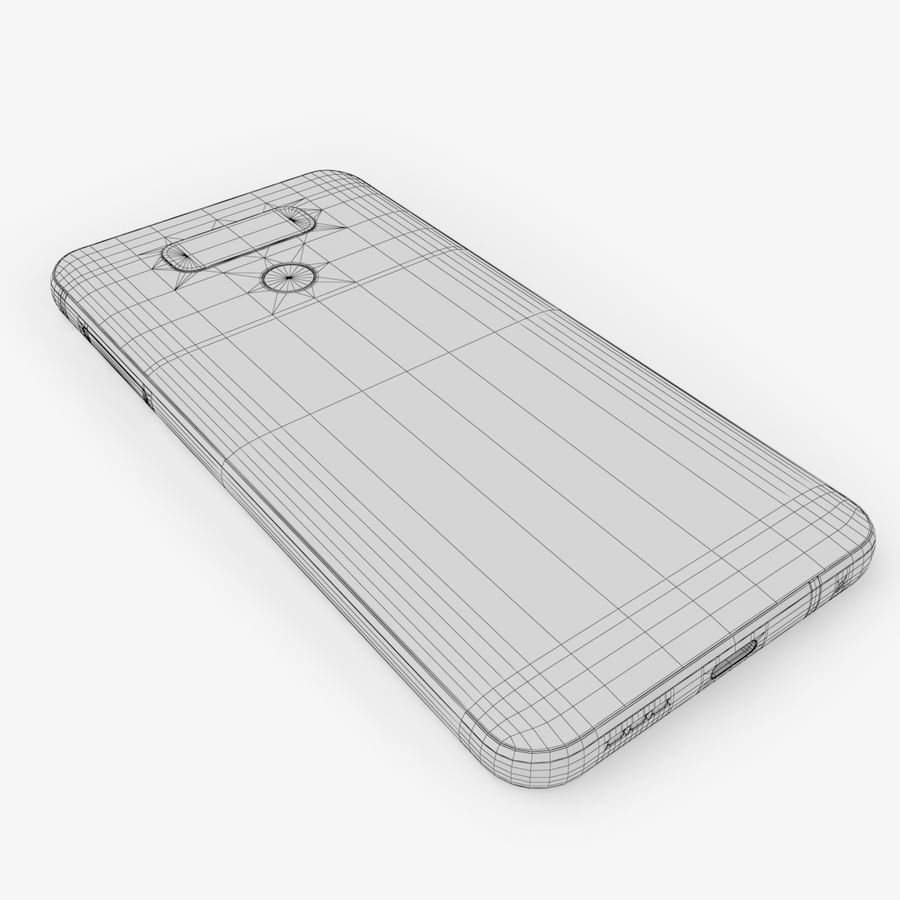 LG G6 royalty-free 3d model - Preview no. 16