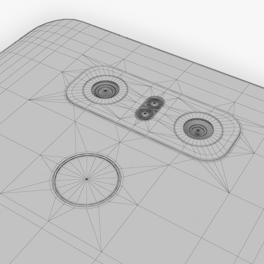 LG G6 royalty-free 3d model - Preview no. 17