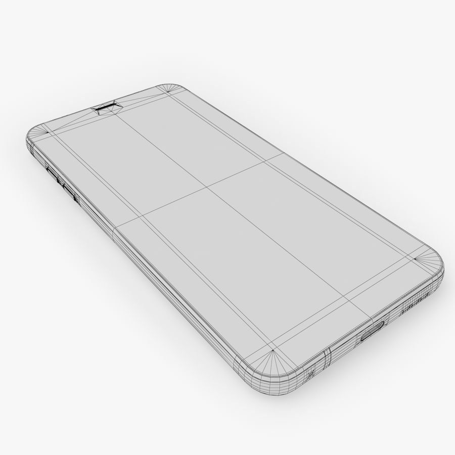 LG G6 royalty-free 3d model - Preview no. 15