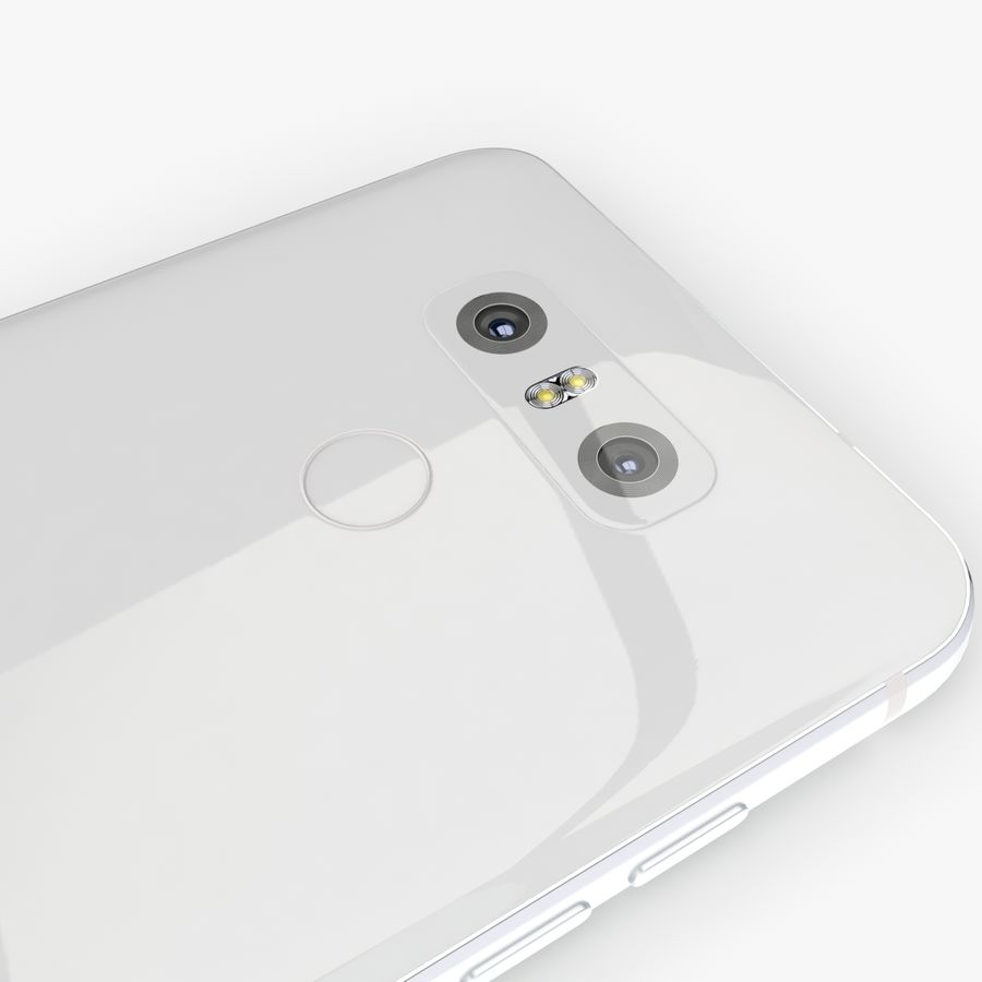 LG G6 royalty-free 3d model - Preview no. 10