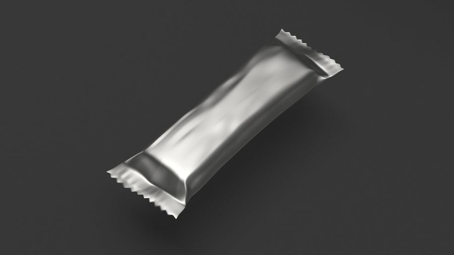 Choklad mellanmål paket royalty-free 3d model - Preview no. 5