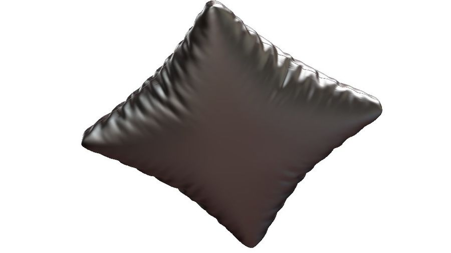cushions royalty-free 3d model - Preview no. 5