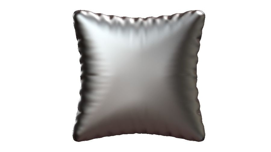 cushions royalty-free 3d model - Preview no. 4