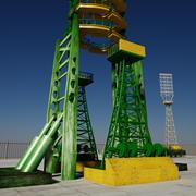 Rocket Launch Site 3d model