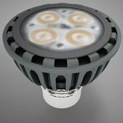 MR16 LED HD 3d model