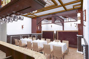 wnętrze restauracji kawiarni 3d model