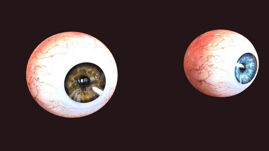 Realistic Human Eye royalty-free 3d model - Preview no. 4