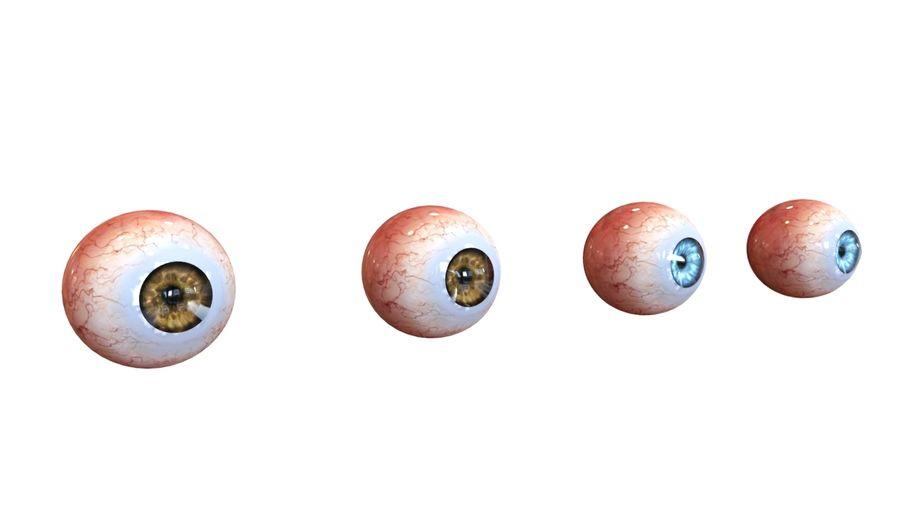 Realistic Human Eye royalty-free 3d model - Preview no. 6